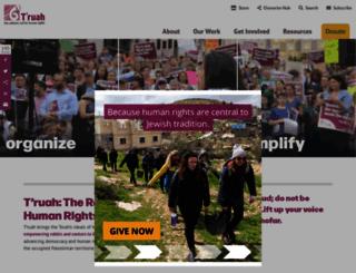 truah.org screenshot