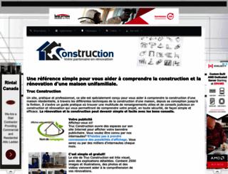 trucconstruction.com screenshot