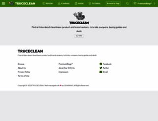 truceclean.com screenshot
