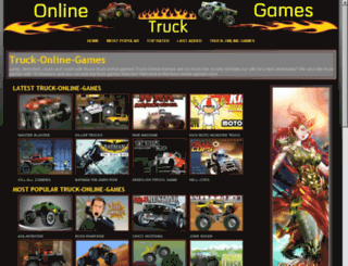truck-online-games.com screenshot
