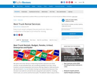 truck-rental-services-review.toptenreviews.com screenshot