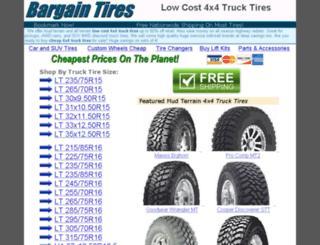 truck-tires.pappahost.com screenshot