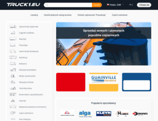 truck1-pl.com screenshot