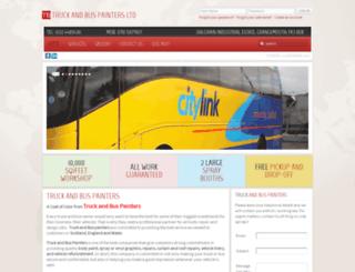 truckandbuspainters.co.uk screenshot