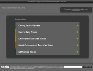 truckassistances.info screenshot
