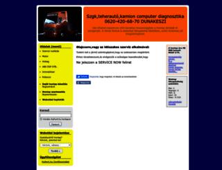 truckcomputerdiag.hupont.hu screenshot