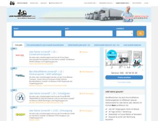 truckerlady.net screenshot