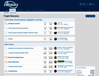 truckersforum.net screenshot