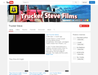 truckersteve.org screenshot