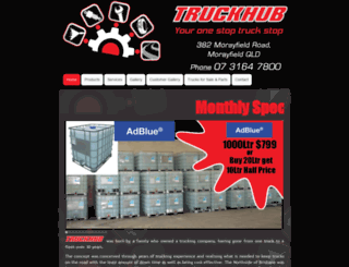 truckhubsolutions.com.au screenshot