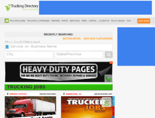 trucking-directory.com screenshot