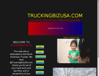 truckingbizusa.com screenshot