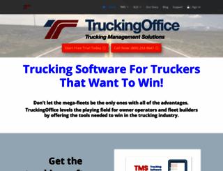 truckingoffice.com screenshot