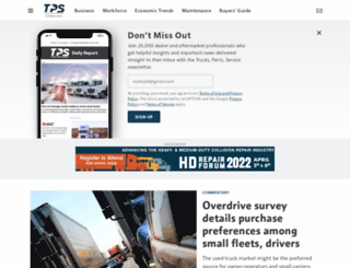 truckpartsandservice.com screenshot