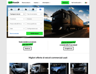 truckscout24.it screenshot