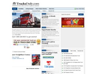 trucksdaily.com screenshot