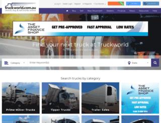 truckworld.com.au screenshot