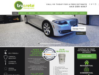 trucrete.com screenshot