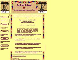 trucsmame.chez-alice.fr screenshot