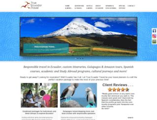 true-ecuador-travel.org screenshot