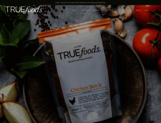 true-foodsltd.co.uk screenshot