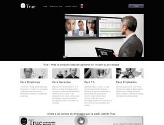 trueatwork.com screenshot
