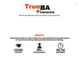 trueba.com.mx screenshot