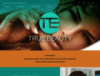 truebeautysd.com screenshot