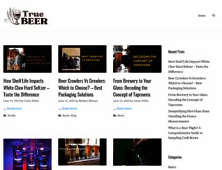 truebeer.com screenshot
