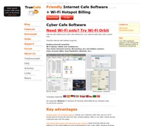 truecafe.com screenshot