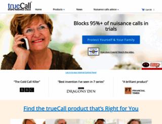 truecall.org screenshot