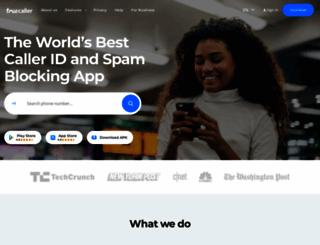 truecaller.com screenshot