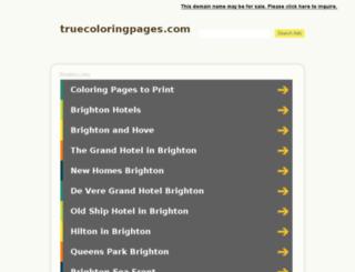 truecoloringpages.com screenshot