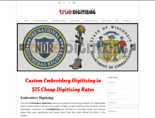 truedigitizing.com screenshot