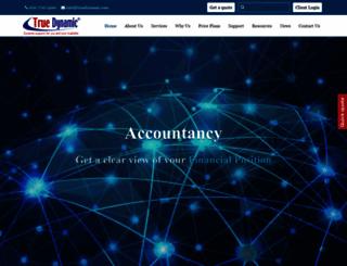 truedynamic.com screenshot