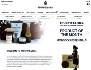 truefittandhill.in screenshot