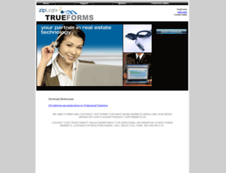 trueforms.com screenshot