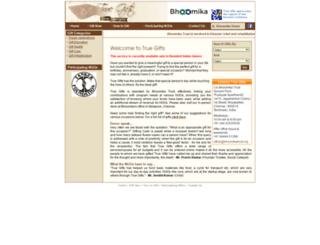 truegiftsindia.org screenshot