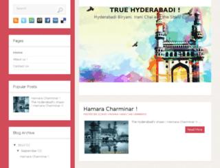 truehyderabadi.in screenshot