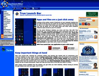 truelaunchbar.com screenshot