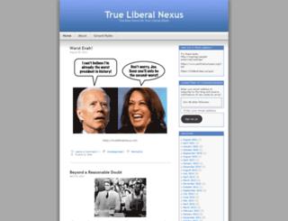 trueliberalnexus.wordpress.com screenshot
