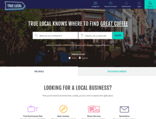 truelocal.com.au screenshot