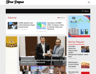 truepapua.com screenshot