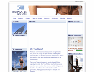 truepilatesny.com screenshot