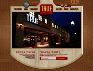truepizza.com screenshot