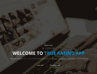 trueratingapp.com screenshot