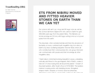 truereality.org screenshot