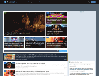 truetrophies.com screenshot