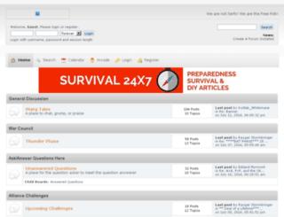 truewildlings.createaforum.com screenshot