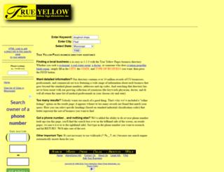 trueyellow.com screenshot